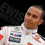 Lewis Hamilton Race Car Driver